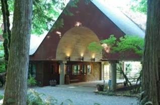 Alton Collins Retreat Center - Main Entrance